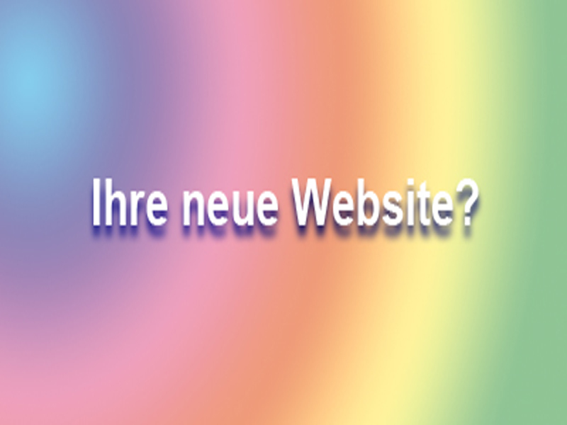 Ihre neue Website? Webdesign & Content Management Systems
